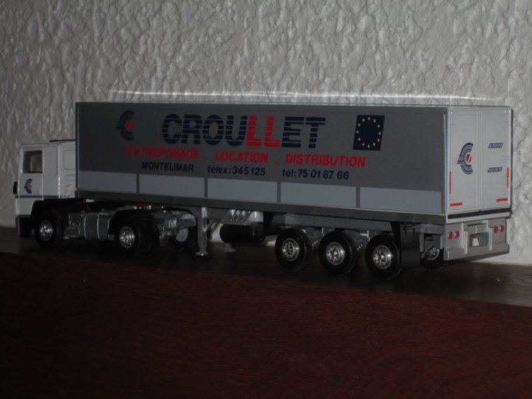 RENAULT R 340 TRANSPORTS CROULLET