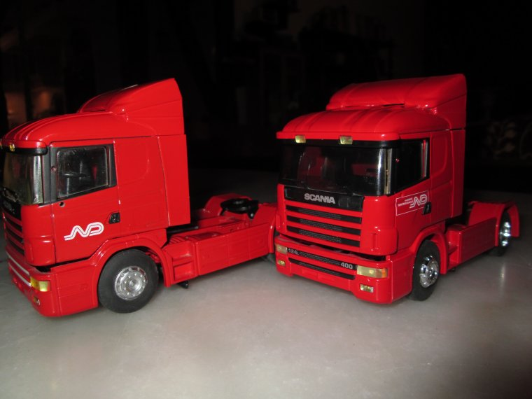 TRACTEURS SCANIA NORBERT DENTRESSANGLE 114 L-530 / 124L-400
