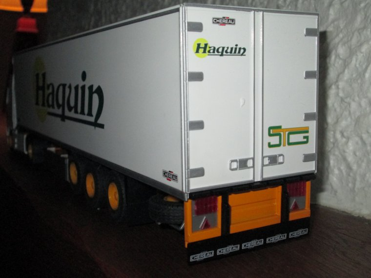 VOLVO FH 12 . 420  SEMI FRIGO HAQUIN GROUPE STG