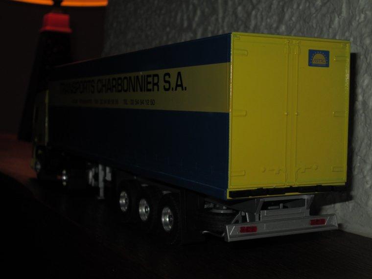 DAF XF 95 TRANSPORTS CHARBONNIER SEMI TAUTLINER