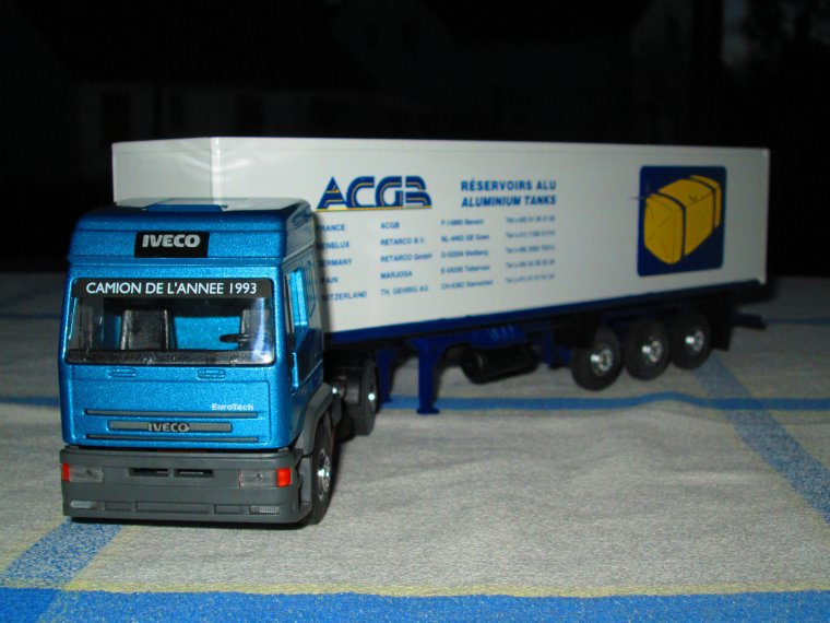 IVECO EUROTECH   ACGB reservoirs alu