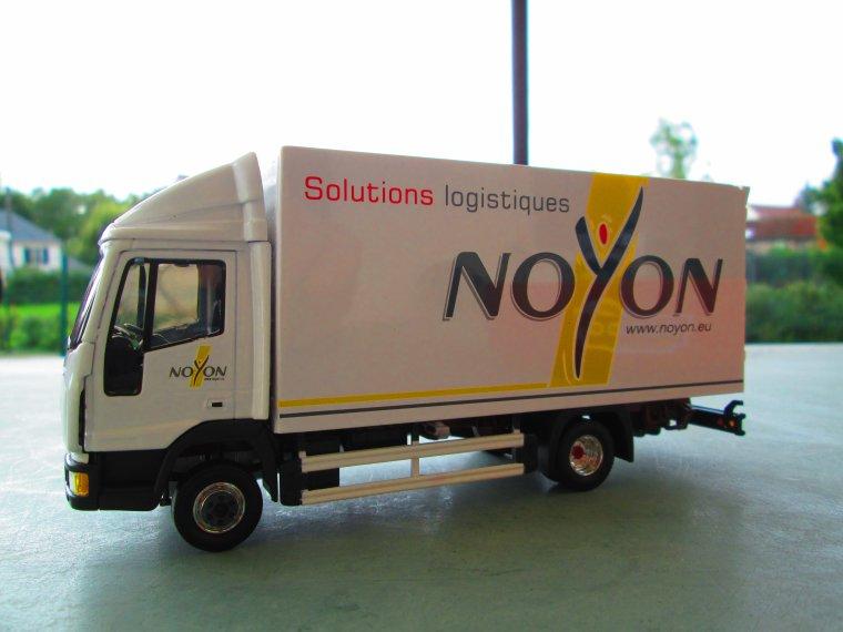 PORTEUR IVECO EUROCARGO NOYON solutions logistiques