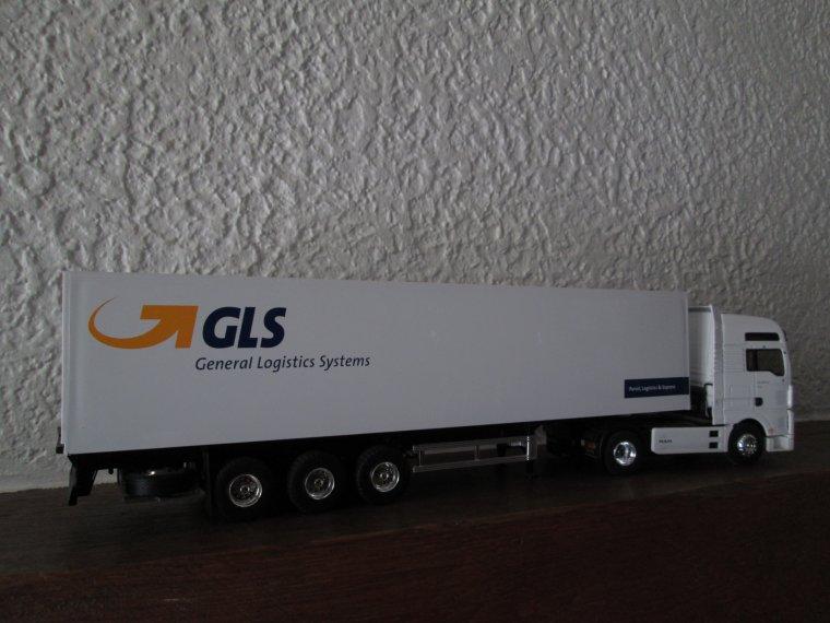 """MAN TG 460.A XXL SEMI FOURGON """" GLS """""""