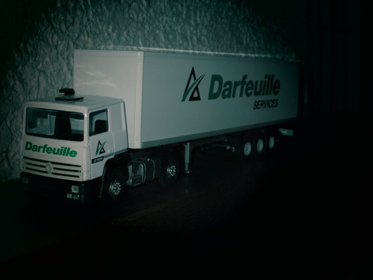 RENAULT R 340 TI SEMI FOURGON DARFEUILLE services