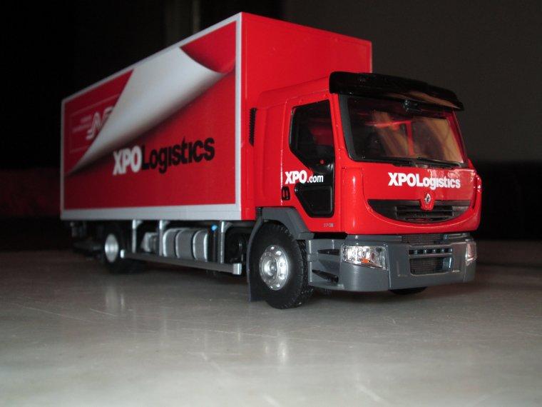 porteur renault premium distribution xpo logistics ..... A VENDRE......  n° 3/150