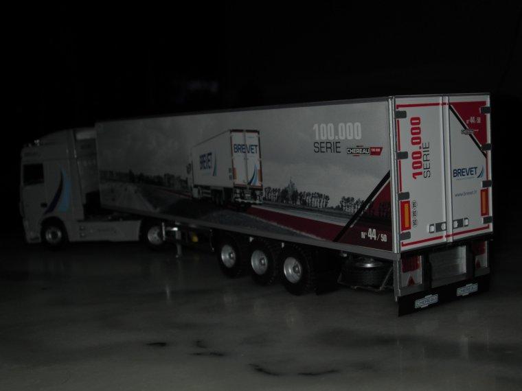 DAF XF euro 6 Sspace cab frigo chereau 100.000 eme transport brevet A VENDRE