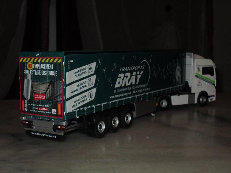 man TGX euro 6 transports bray