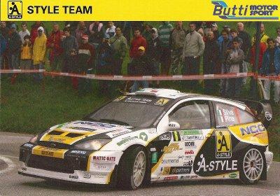 FORD FOCUS WRC - MARCO SILVA