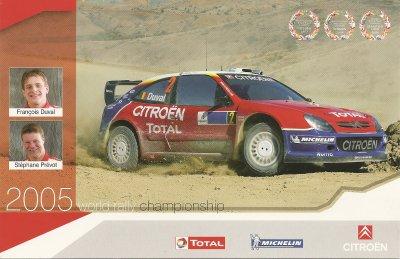 CITROEN XSARA WRC - FRANCOIS DUVAL - 2005