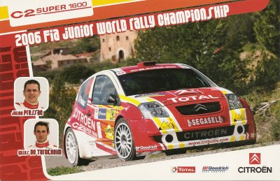 CITROEN C2 SUPER 1600 - JULIEN PRESSAC