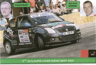 SUZUKI SWIFT - JEAN-PAUL MONNIN