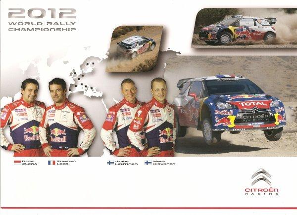 CITROEN DS3 WRC - SEBASTIEN LOEB / MIKKO HIRVONEN - 2012