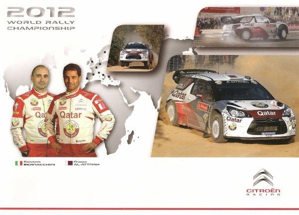 CITROEN DS3 WRC - NASSER AL-ATTIYAH - 2012