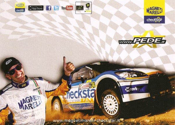 CITROEN DS3 WRC - LUCA PEDERSOLI