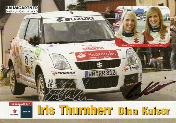 SUZUKI SWIFT - IRIS THURNHERR