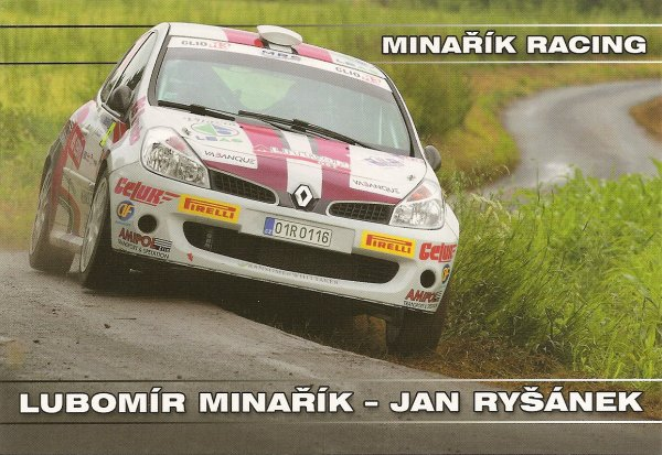 RENAULT CLIO R3 - LUBOMIR MINARIK
