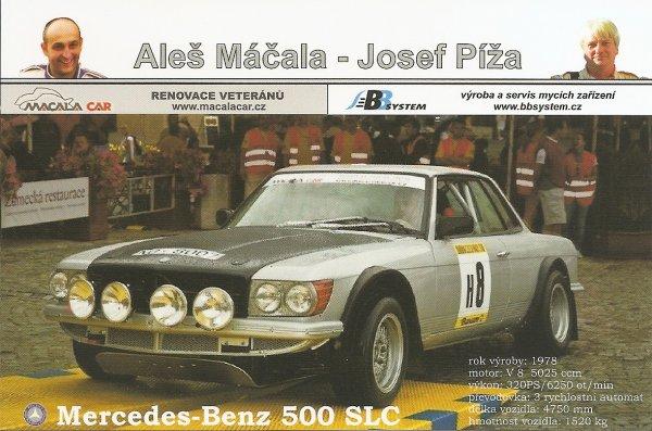 MERCEDES 500 SLC - ALES MACALA