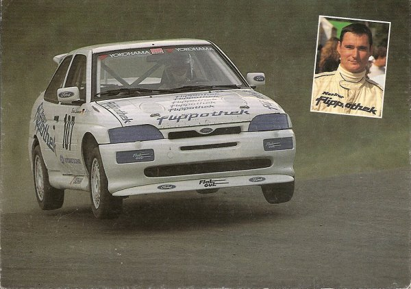 FORD ESCORT COSWORTH - BERND LEINEMANN
