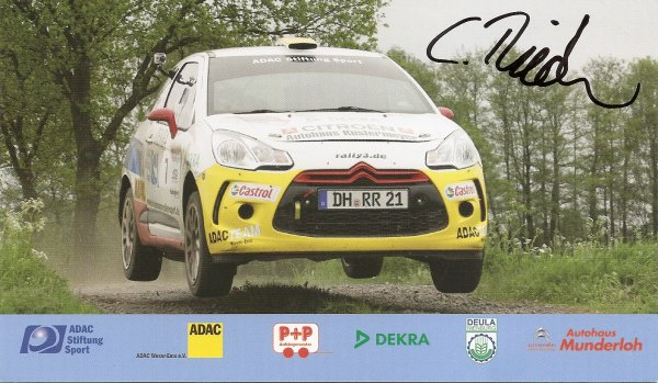 CITROEN DS3 R3 - CHRISTIAN RIEDEMANN