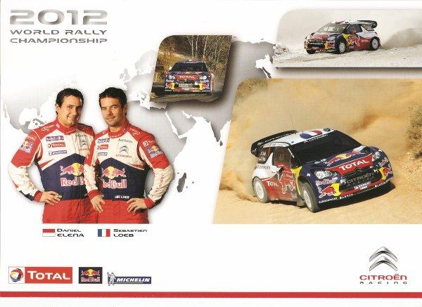CITROEN DS3 WRC - SEBASTIEN LOEB - 2012