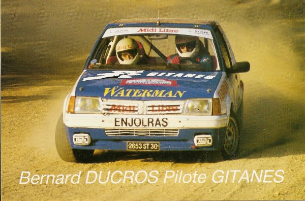 PEUGEOT 205 GTI - BERNARD DUCROS