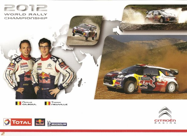 CITROEN DS3 WRC - THIERRY NEUVILLE - 2012
