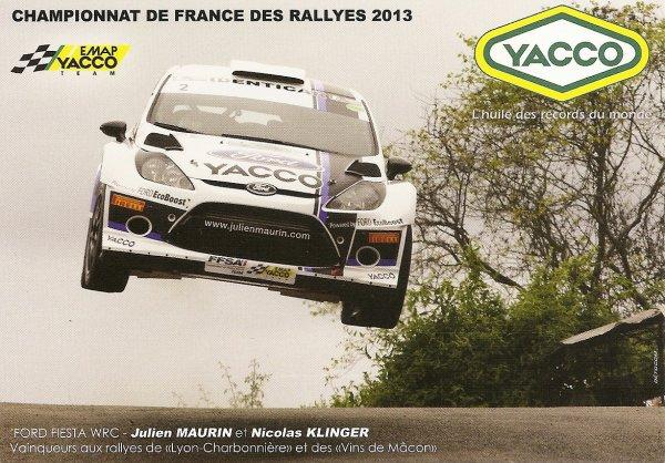 FORD FIESTA WRC - JULIEN MAURIN