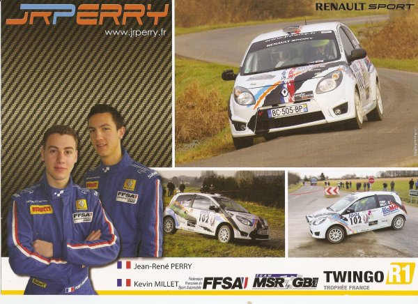 RENAULT TWINGO R1 - JEAN-RENE PERRY
