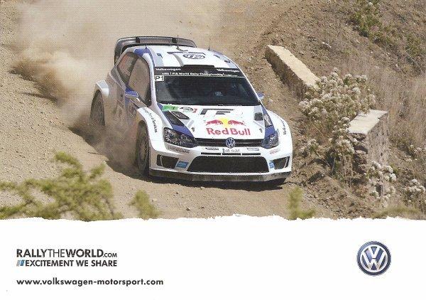 VW POLO WRC - SEBASTIEN OGIER