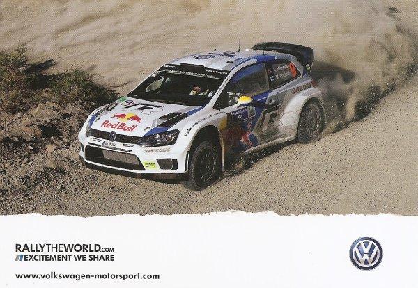 VW POLO WRC - ANDREAS MIKKELSEN