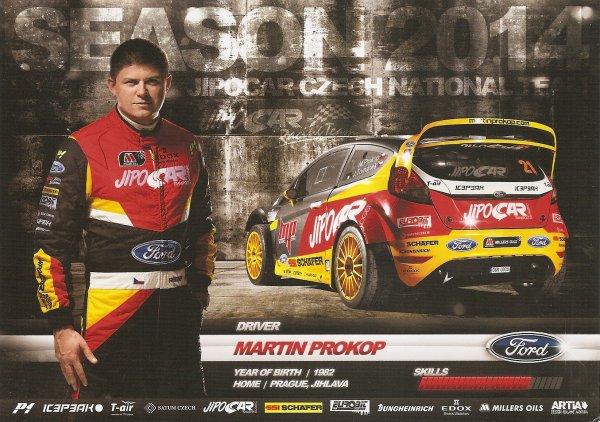 FORD FIESTA WRC - MARTIN PROKOP (RECTO/VERSO)