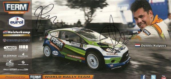 FORD FIESTA WRC - DENNIS KUIPERS