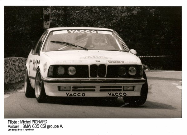 BMW 635 CSI - MICHEL PIGNARD