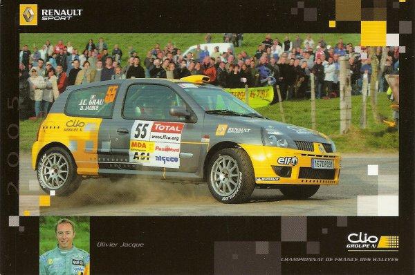 RENAULT CLIO RS - OLIVIER JACQUE