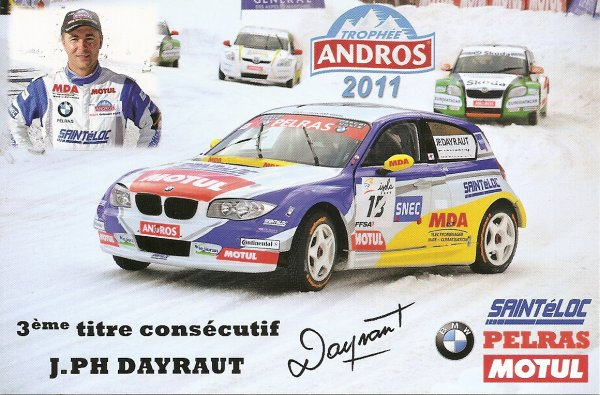 BMW SERIE 1 - TROPHEE ANDROS - JEAN-PHILIPPE DAYRAUT