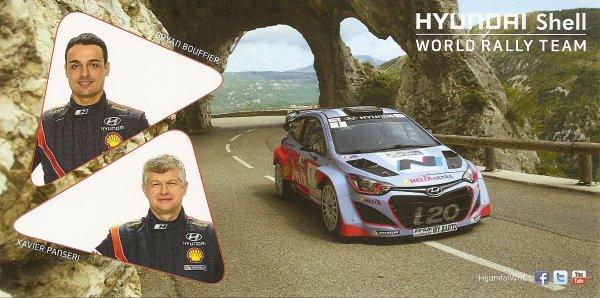 POUR ECHANGE - HYUNDAI i20 WRC - BRYAN BOUFFIER