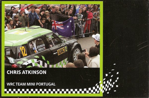 MINI JOHN COOPER WORKS WRC - CHRIS ATKINSON