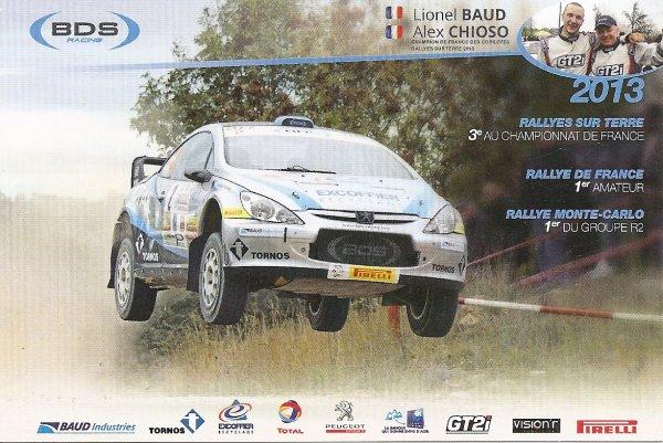 PEUGEOT 307 WRC - LIONEL BAUD