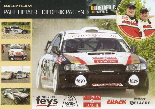 SUBARU IMPREZA WRC - PAUL LIETAER