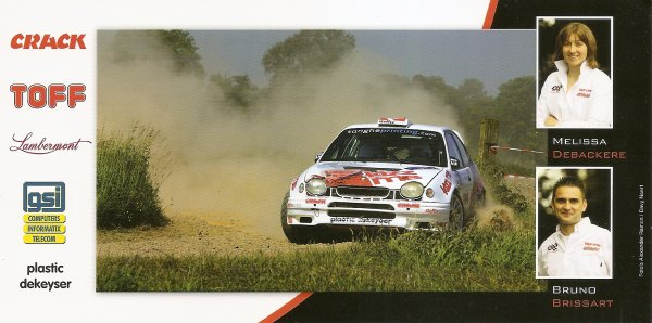 TOYOTA COROLLA WRC - MELISSA DEBACKERE