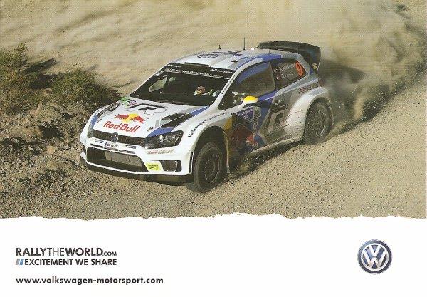 VW POLO WRC - OLA FLOENE