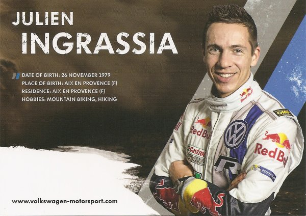 VW POLO WRC - JULIEN INGRASSIA