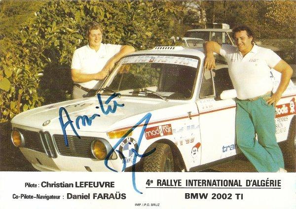 BMW 2002 ti - CHRISTIAN LEFEUVRE
