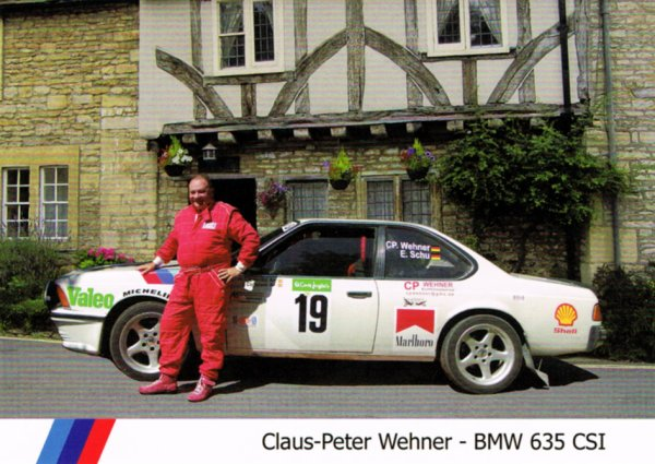 BMW 635 CSI - CLAUS-PETER WEHNER