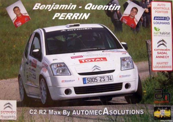 CITROEN C2 R2 - BENJAMIN PERRIN