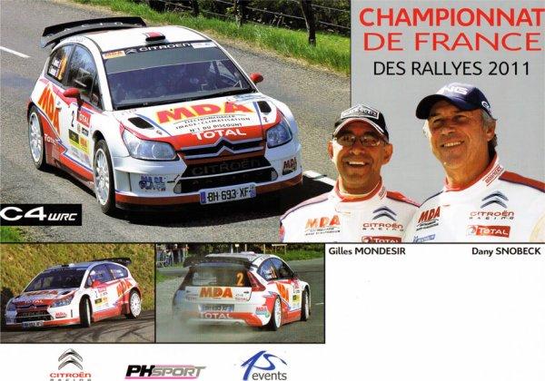 CITROEN C4 WRC - DANY SNOBECK