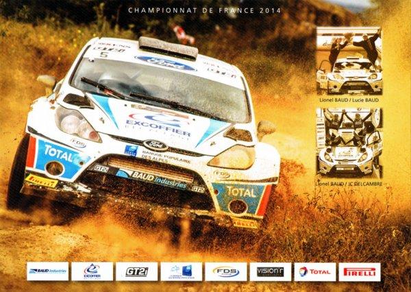 FORD FIESTA WRC - LIONEL BAUD
