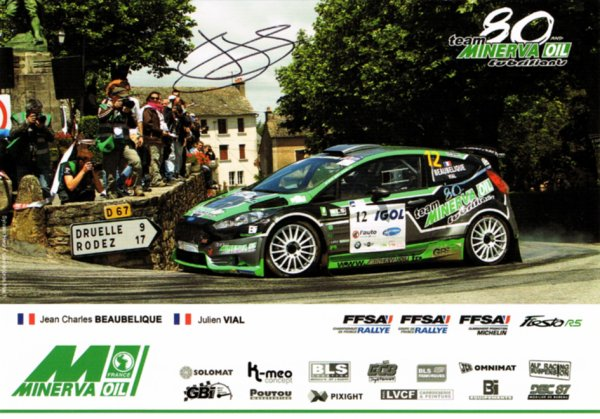 FORD FIESTA R5 - JEAN-CHARLES BEAUBELIQUE