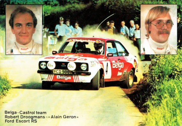 FORD ESCORT RS - ROBERT DROOGMANS