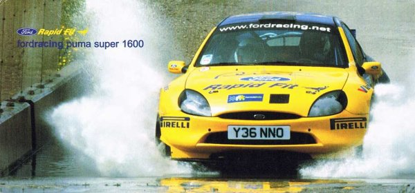 FORD PUMA SUPER 1600 - PATRICK MAGAUD